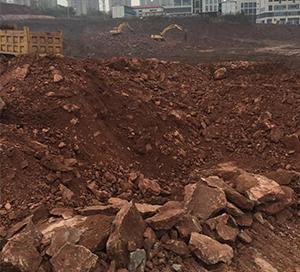 土石方工程前期进行中
