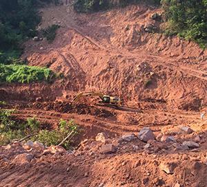 土石方施工中