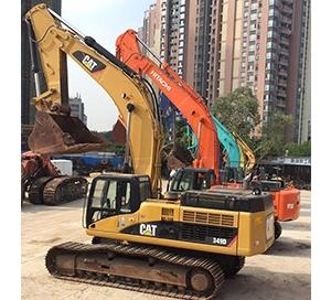 重庆中小型挖掘机租赁